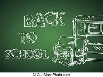 La educación vuelve al autobús escolar.
