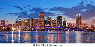 La escena de Miami