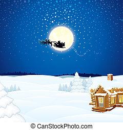 La escena de Navidad