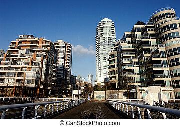 La escena de Vancouver
