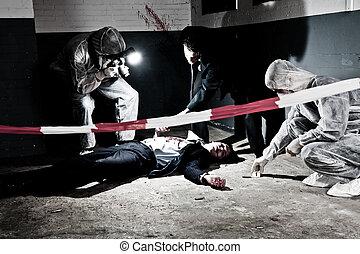 La escena del crimen