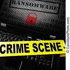 La escena del crimen de los ordenadores