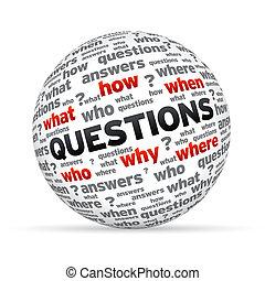 La esfera de preguntas