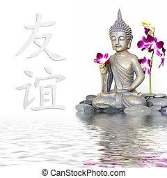 La estatua de Buda