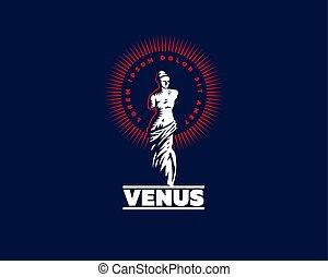 La estatua de Venus es mondial.