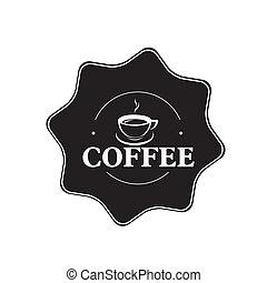 La etiqueta del café