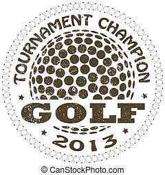 La etiqueta del golf