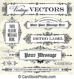 La etiqueta del vector está puesta