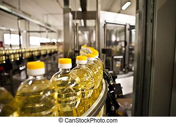 La fábrica de aceites comestibles. Dulzura.