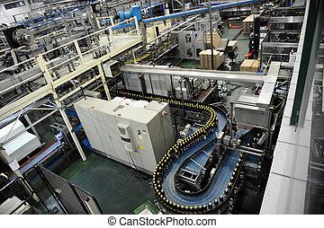 La fábrica de bebidas
