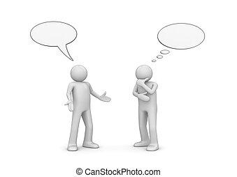 La generación de charlas
