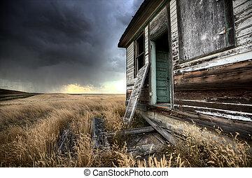 La granja abandonada Saskatchewan canada