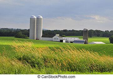 La granja del condado de Lancaster