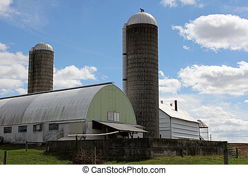 La granja lechera