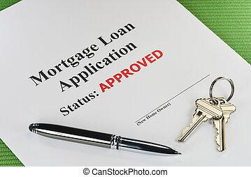 La hipoteca inmobiliaria aprobó el préstamo