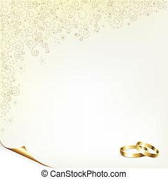La historia de la boda