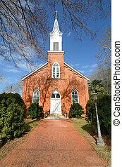 La iglesia anterior