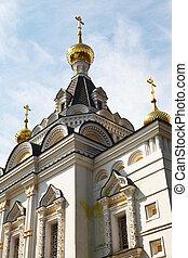 La iglesia de Elizabeth en Dmitrov Kremlin, Rusia