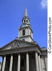 La iglesia de St. Martin está en los campos de Londres
