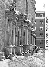 La iglesia del St. Peter está en riga