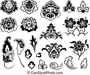 La ilustración de flores