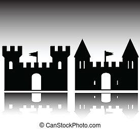 La ilustración del castillo