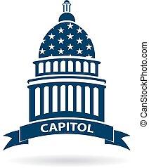 La ilustración del Congreso del Capitolio