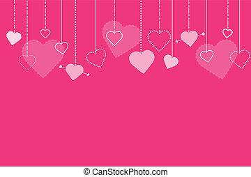 La imagen de fondo de Valentines rosas