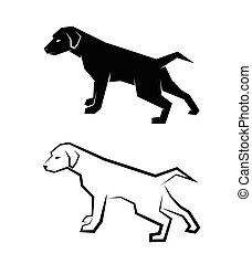 La imagen de un perro