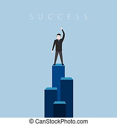 La imagen del éxito comercial