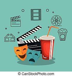 La industria del cine crea iconos