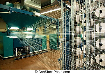 La industria textil (denim