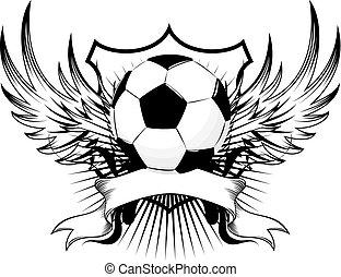 La insignia del fútbol