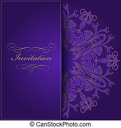 La invitación de Violet