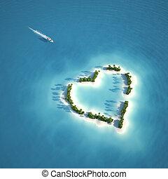 La isla del corazón del paraíso