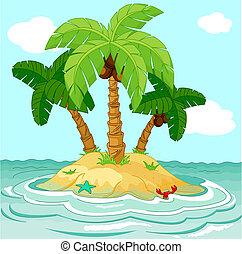 La isla del desierto