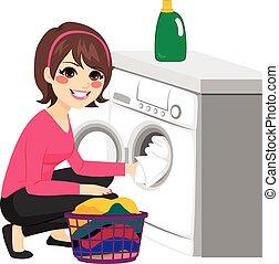 La lavadora de mujeres