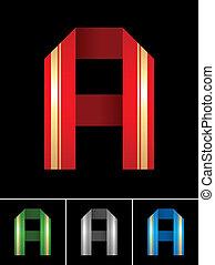 La letra ABC de la letra A