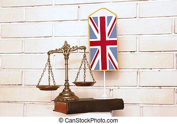 La ley británica y la justicia