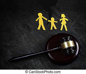 La ley familiar se separó