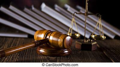 La ley y la justicia, el código legal