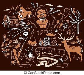 La leyenda de Bigfoot