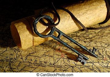 La llave del tesoro