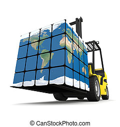 La logística global