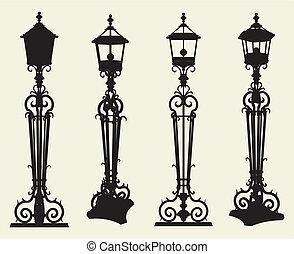 La luz de la calle Candelabra