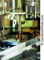 La máquina de llenar para la industria farmacéutica