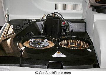 La máquina del laboratorio