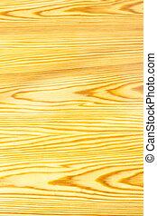 La madera de pino varniada en forma vertical