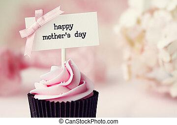 La magdalena del día de la madre
