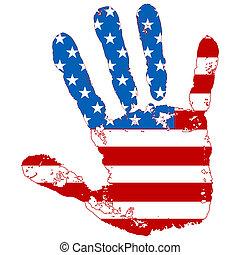 La mano abierta